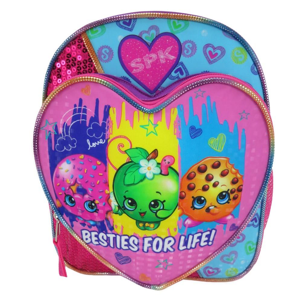 Girls Shopkins Mini Backpack - Multi-Colored