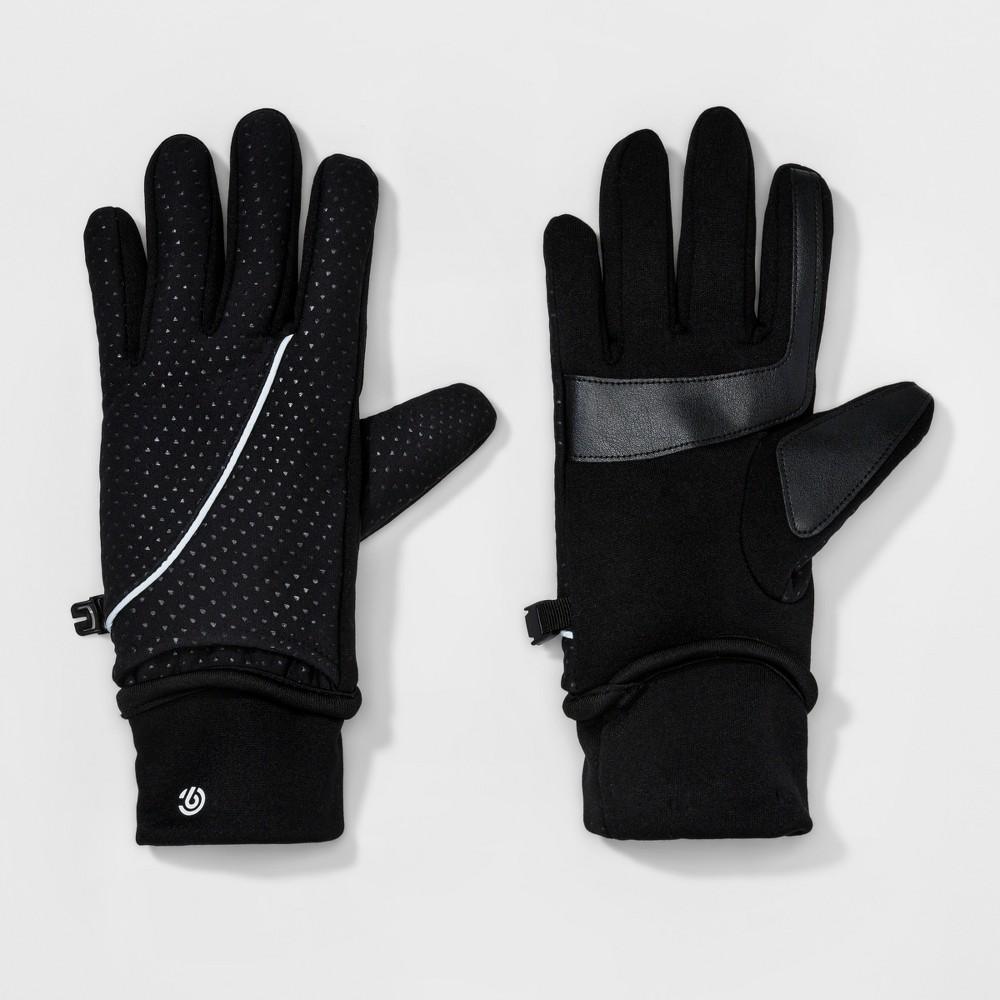 Womens Lined Running Gloves - C9 champion Black S/M