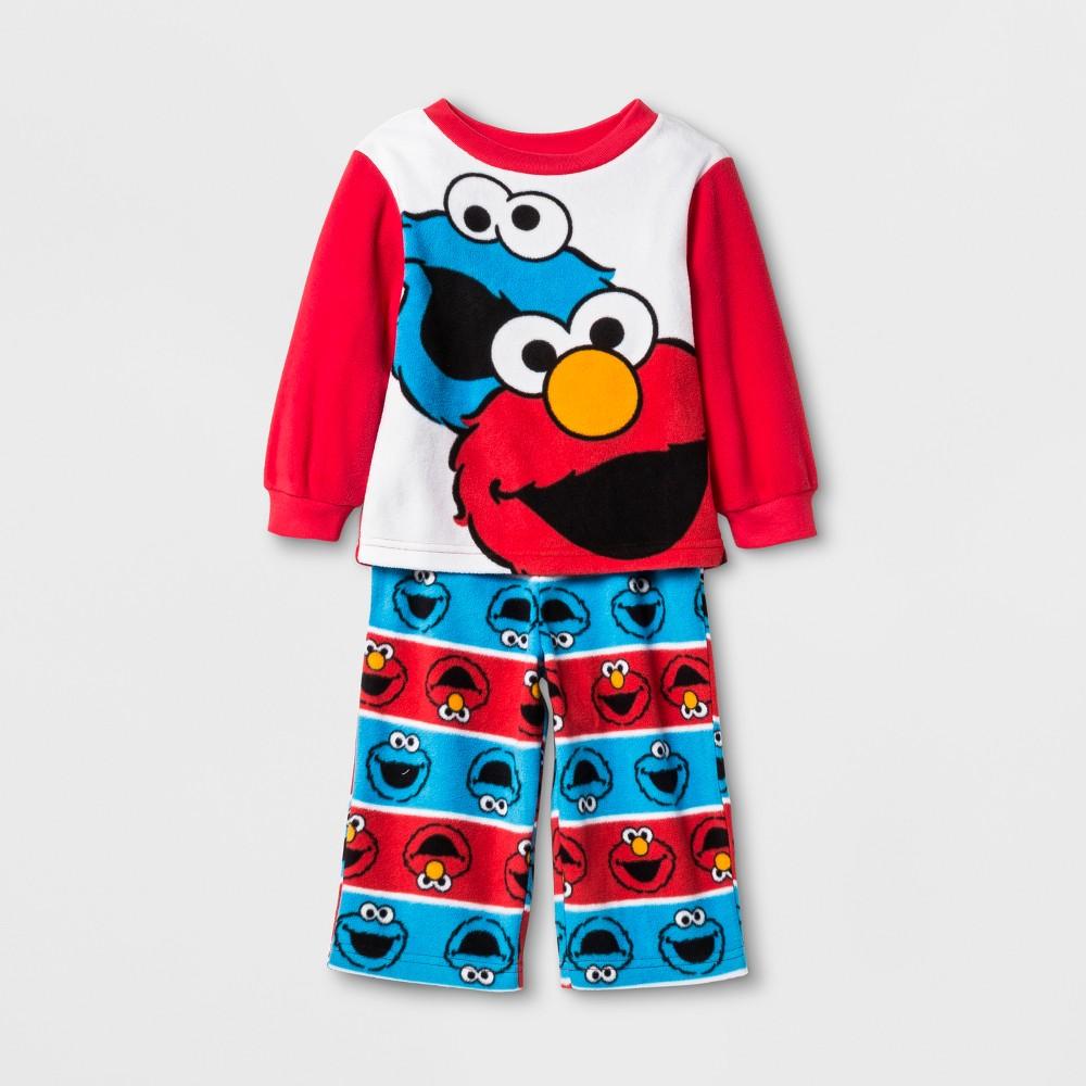 Pajama Set Sesame Street Red 24 M, Infant Boys
