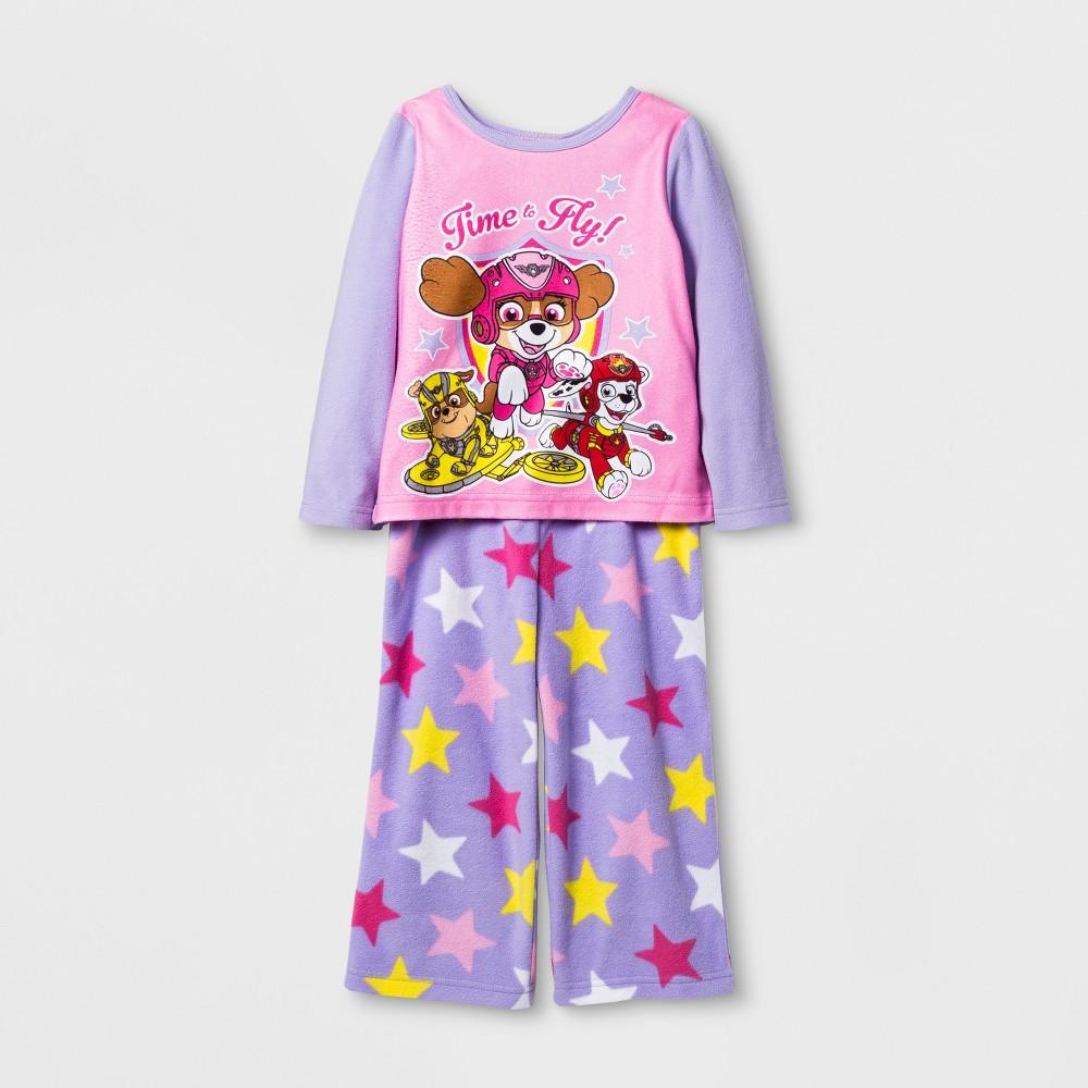 Pajama Set Paw Patrol Purple 4T, Toddler Girls