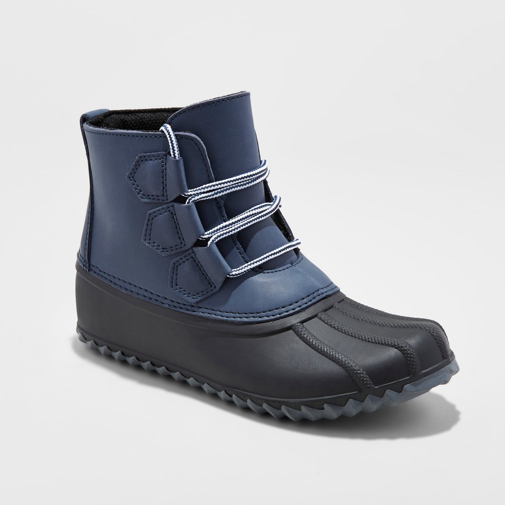 Womens Jodi Duck Boots - Merona Navy 10, Blue