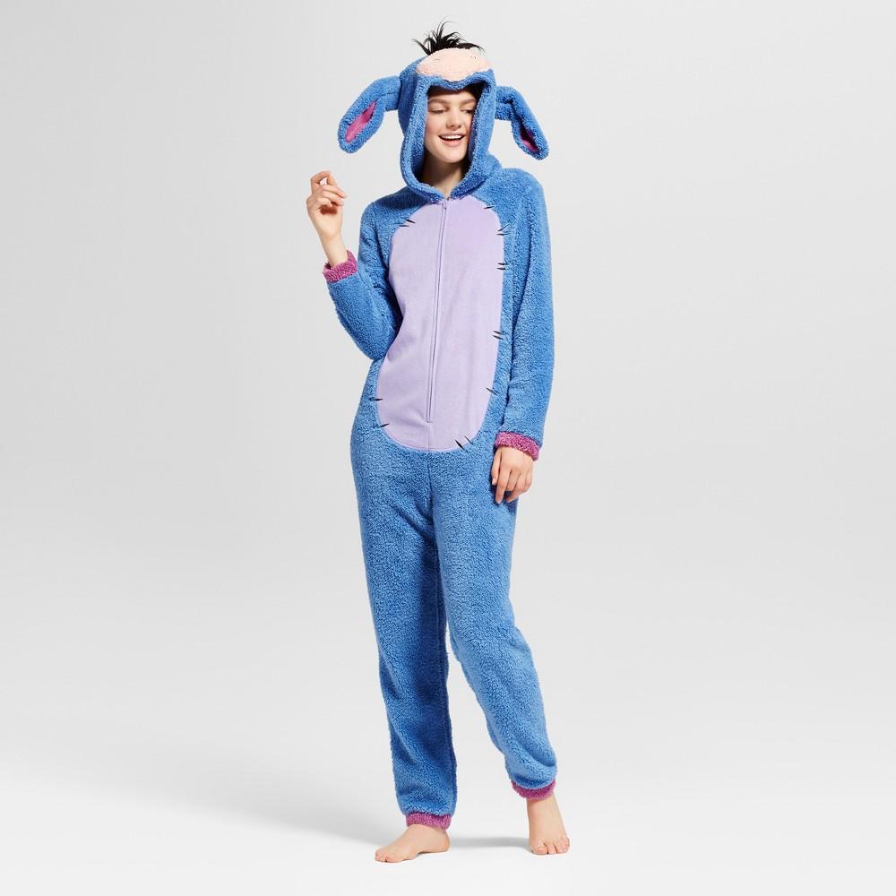 Womens Eeyore Union Suit - Blue S/M, Size: S-M