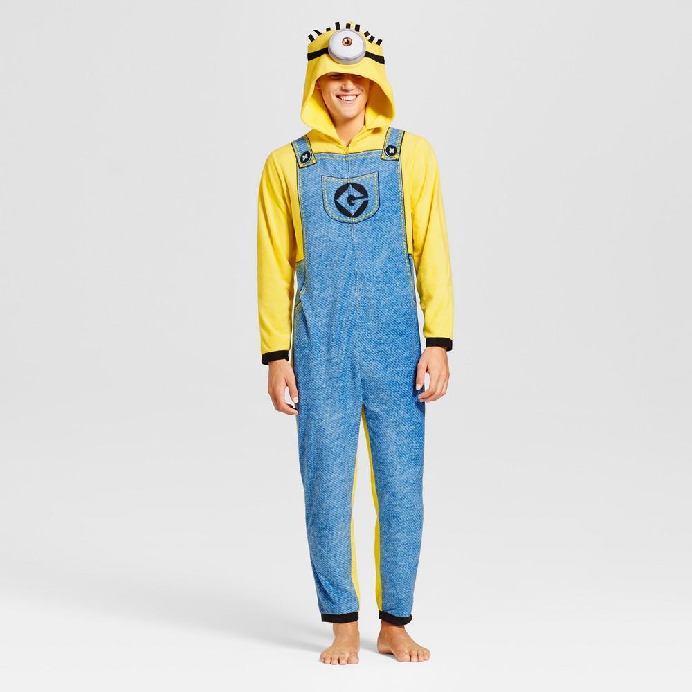 Womens Minions Union Suit - Blue M