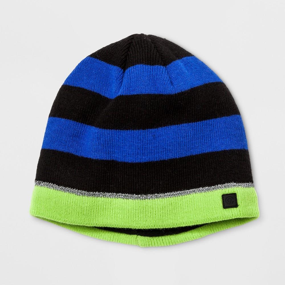 Boys Stripe Beanie - C9 Champion Green One Size