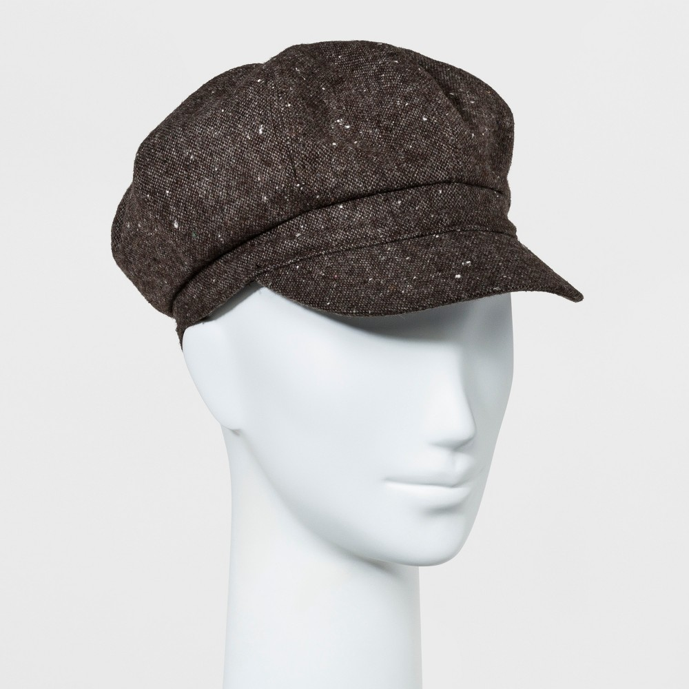 Womens Newsboy Hat - Mossimo Supply Co. Brown