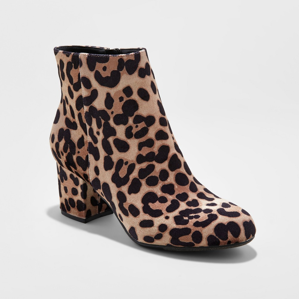 Womens Bridget Mod Booties - A New Day 8, Multicolored