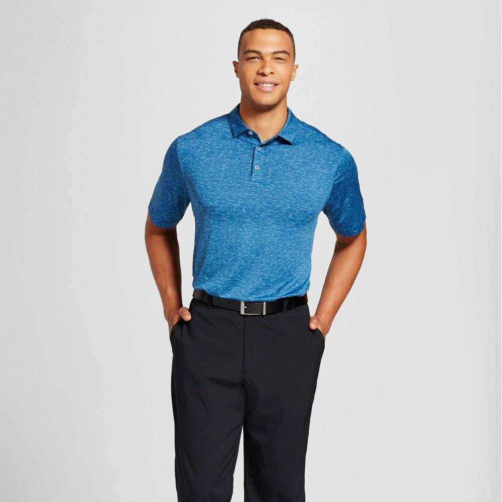 Mens Big & Tall Space Dye Golf Polo - C9 Champion Blue 5XBT