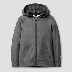 Boys' Textured Tech Fleece Full Zip Hoodie - C9 Champion®