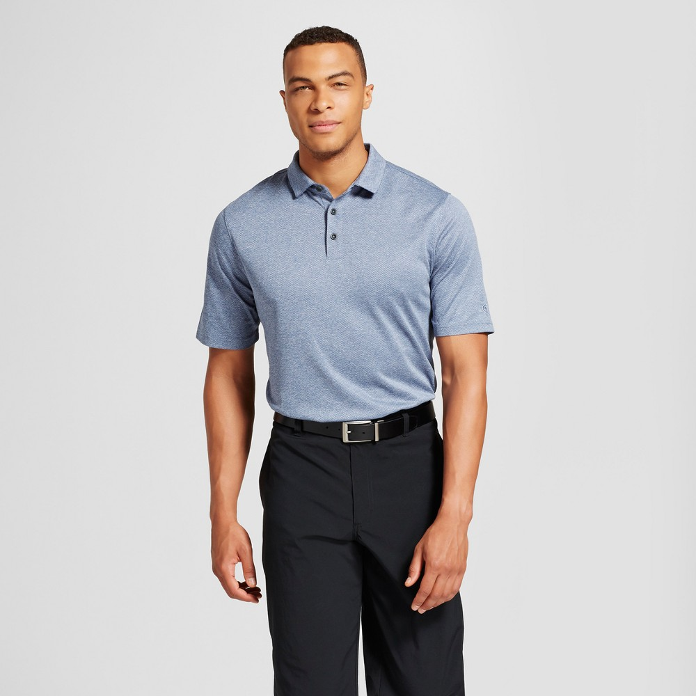 Mens Big & Tall Texture Golf Polo - C9 Champion Blue 2XBT