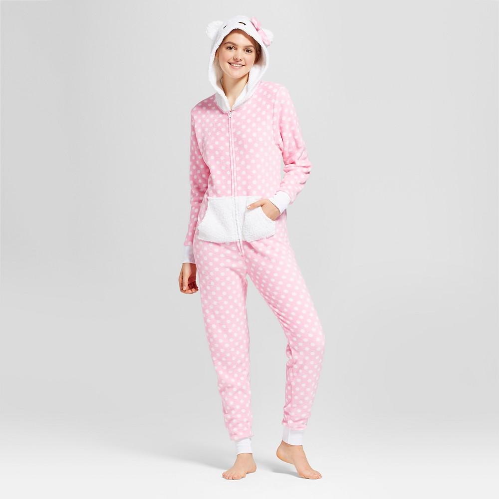 Womens Hello Kitty Union Suit - Pink L/XL, Size: L-XL