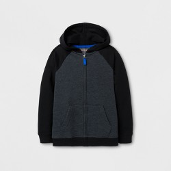 Boys' Fleece Sweatshirt - Cat & Jack™ Black