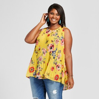 plus size tops : target