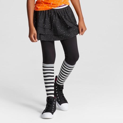 Girlsu2019 Skirted Leggings with Black Sparkle Skirt u2013 Cat u0026 Jack Black XL u2013 Fun Shopping and ...