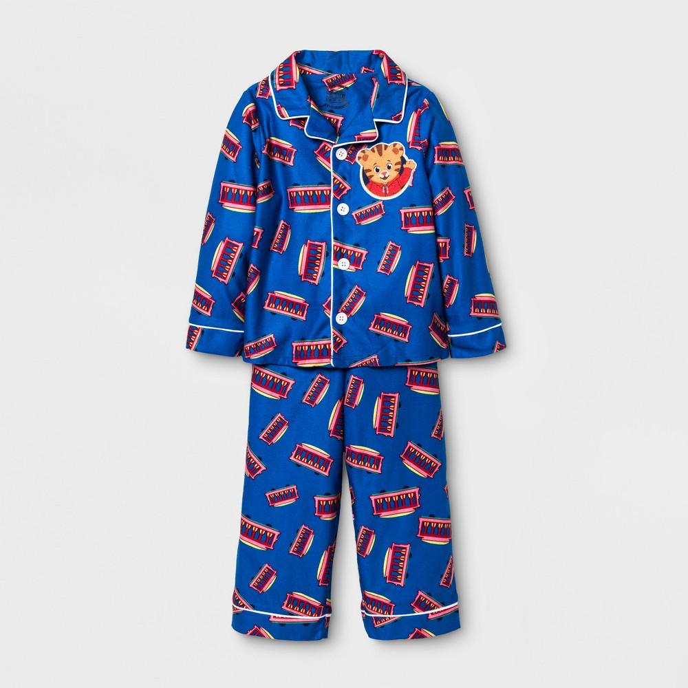 Toddler Boys Peppa Pig Long Sleeve Coat Set - Blue 5T