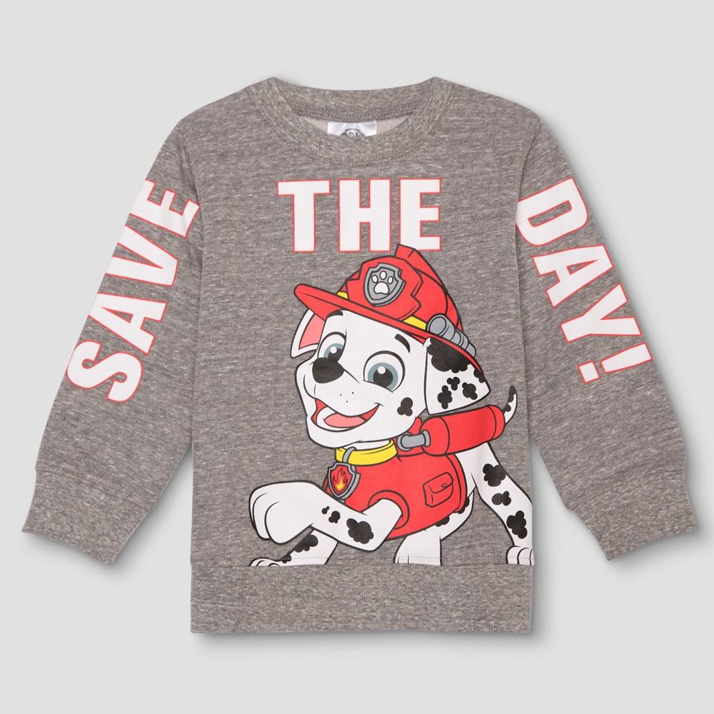 Sweatshirts Marshall Crisp Night 12 M, Toddler Boy's, Gray