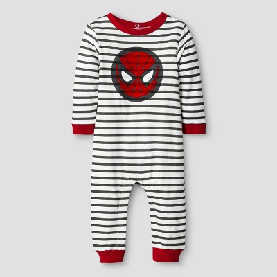 Baby Boys' Spider-Man Coverall Red - Disney® 3-6 M