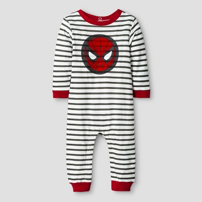 Baby Boys' Spider-Man Coverall Red - Disney® 6-9 M
