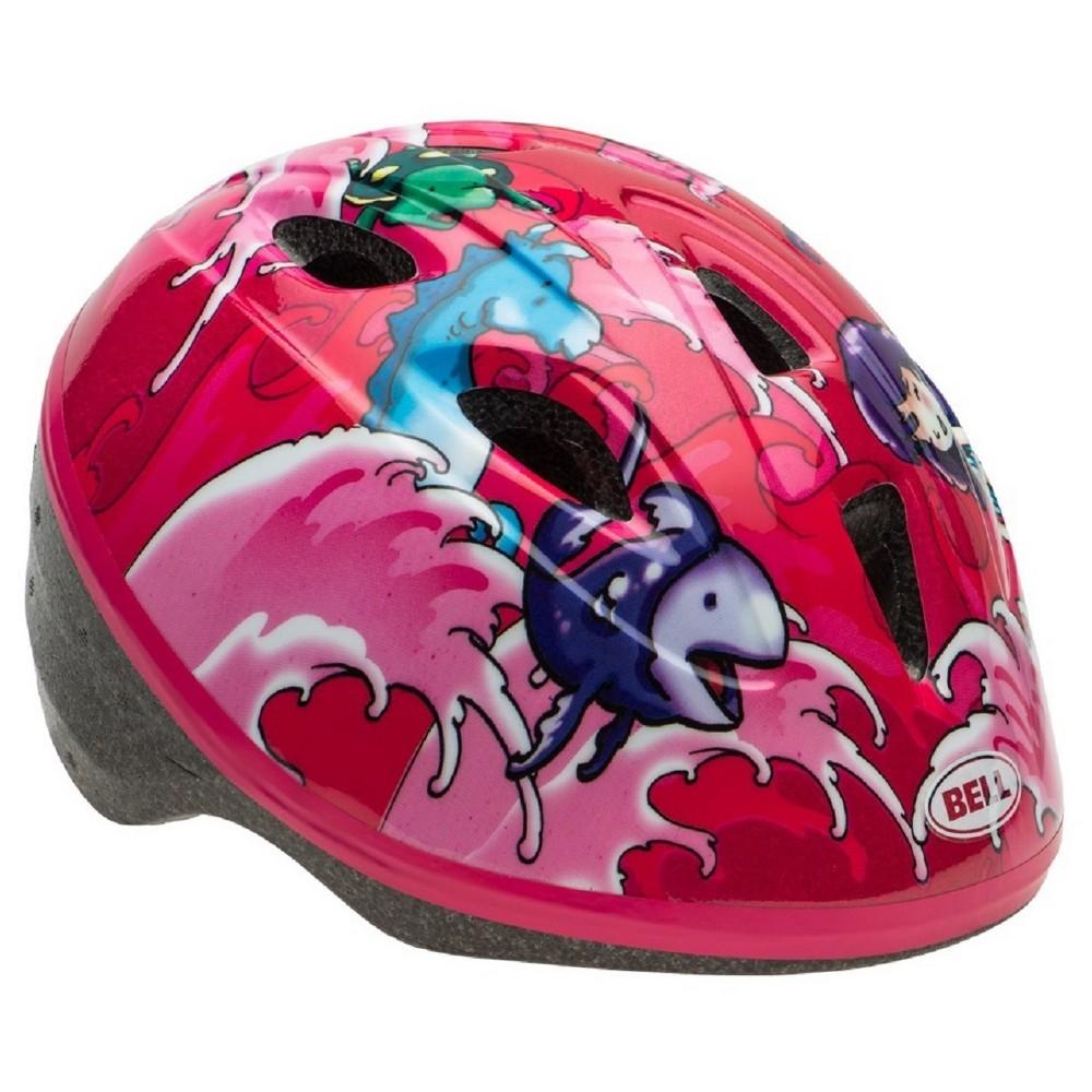 Bell Sports Bell Zoomer Mermaid Toddler Bike Helmet - Pin...