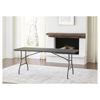 6 Foot Blow Molded Folding Table   Cosco