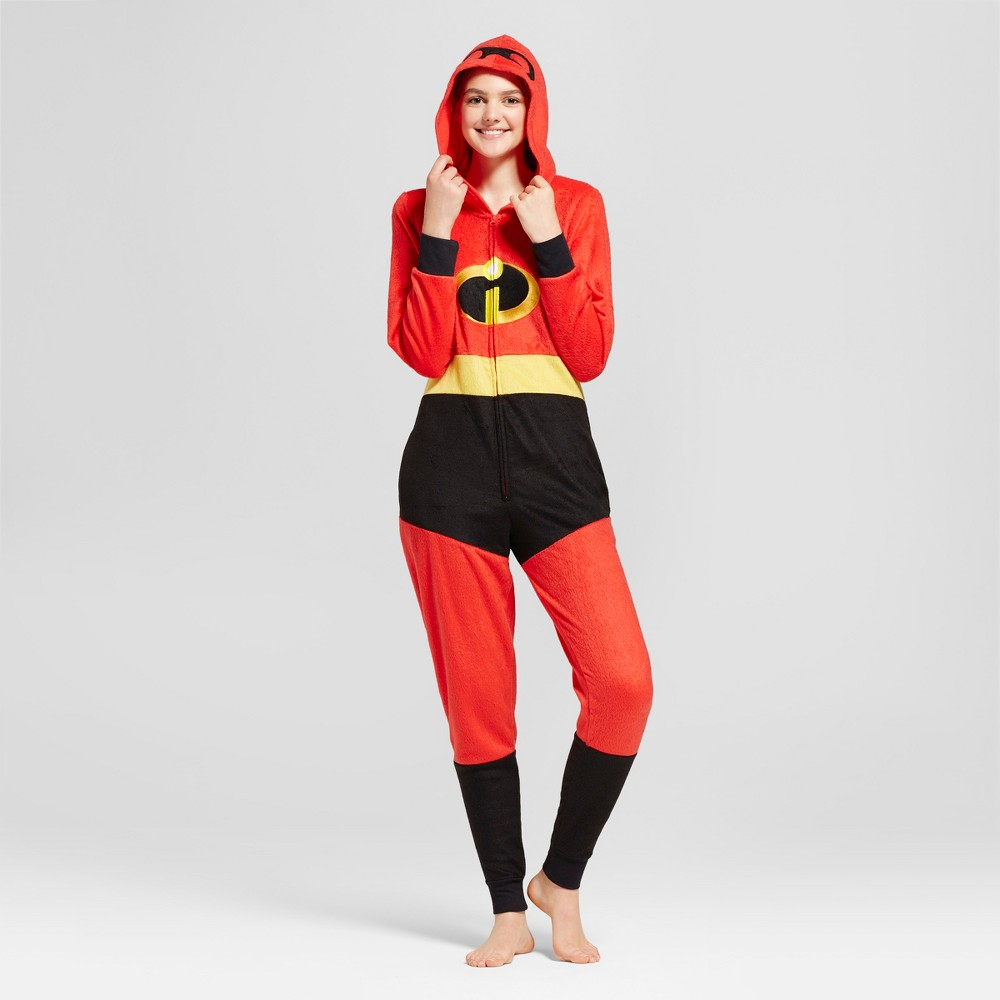 Womens Disneys Incredibles Union Suit - Red S/M, Size: S-M