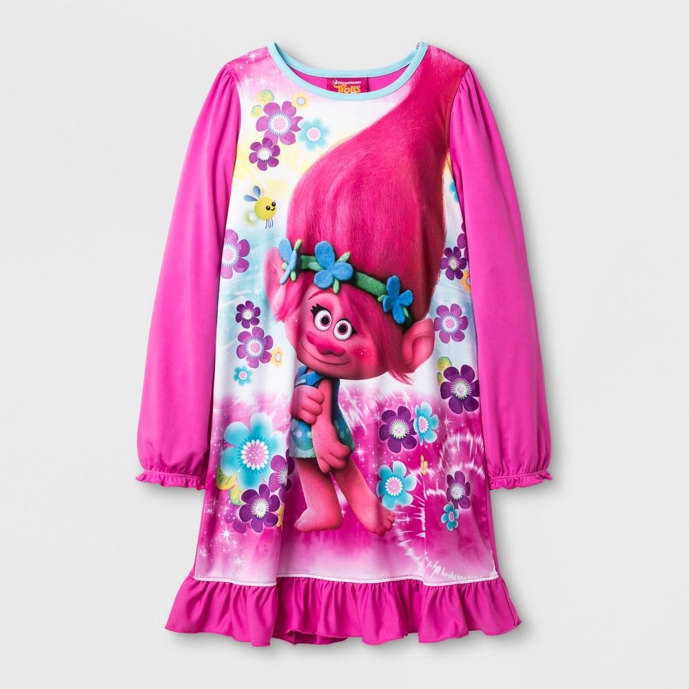 Girls Trolls Nightgown - Pink 8