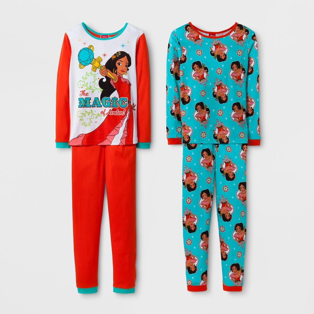 Girls Elena of Avalor Pajama Set - Red 6