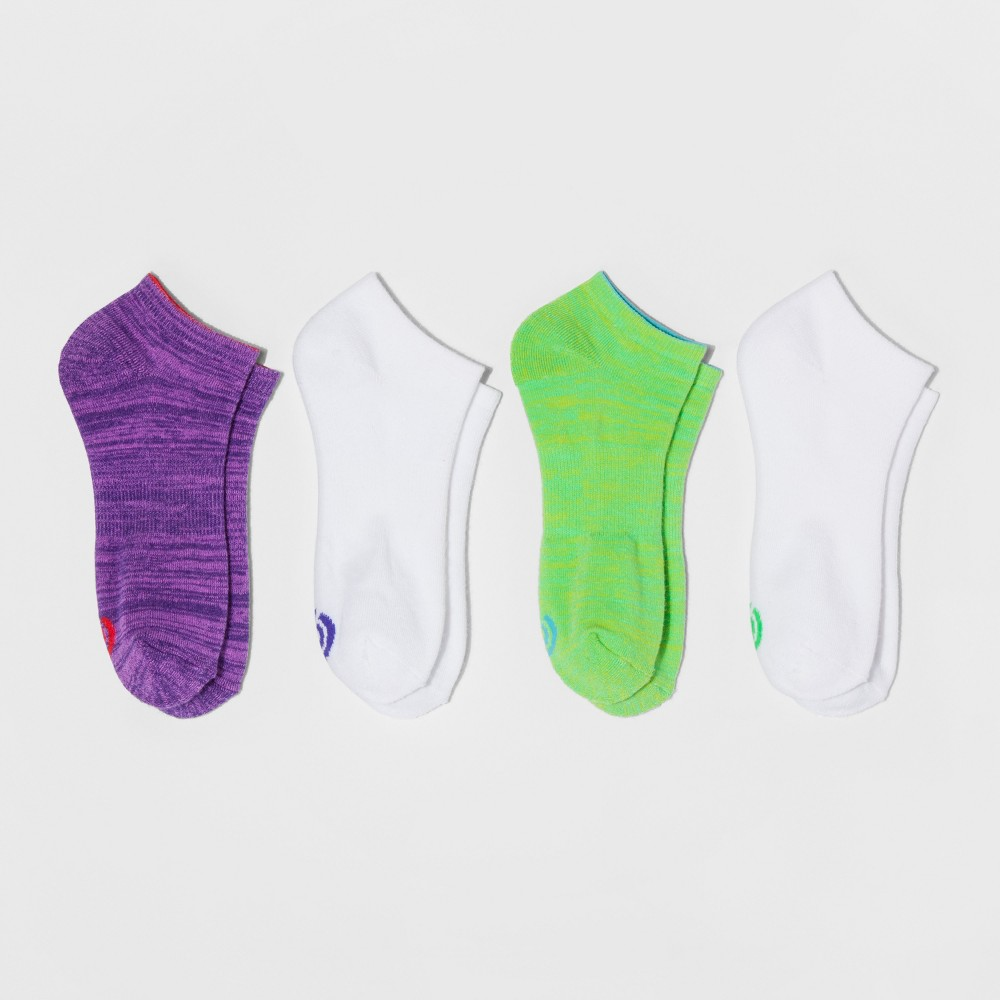 Women's Low-Cut Socks with Cushion 4pk - C9 Champion Green 5-9