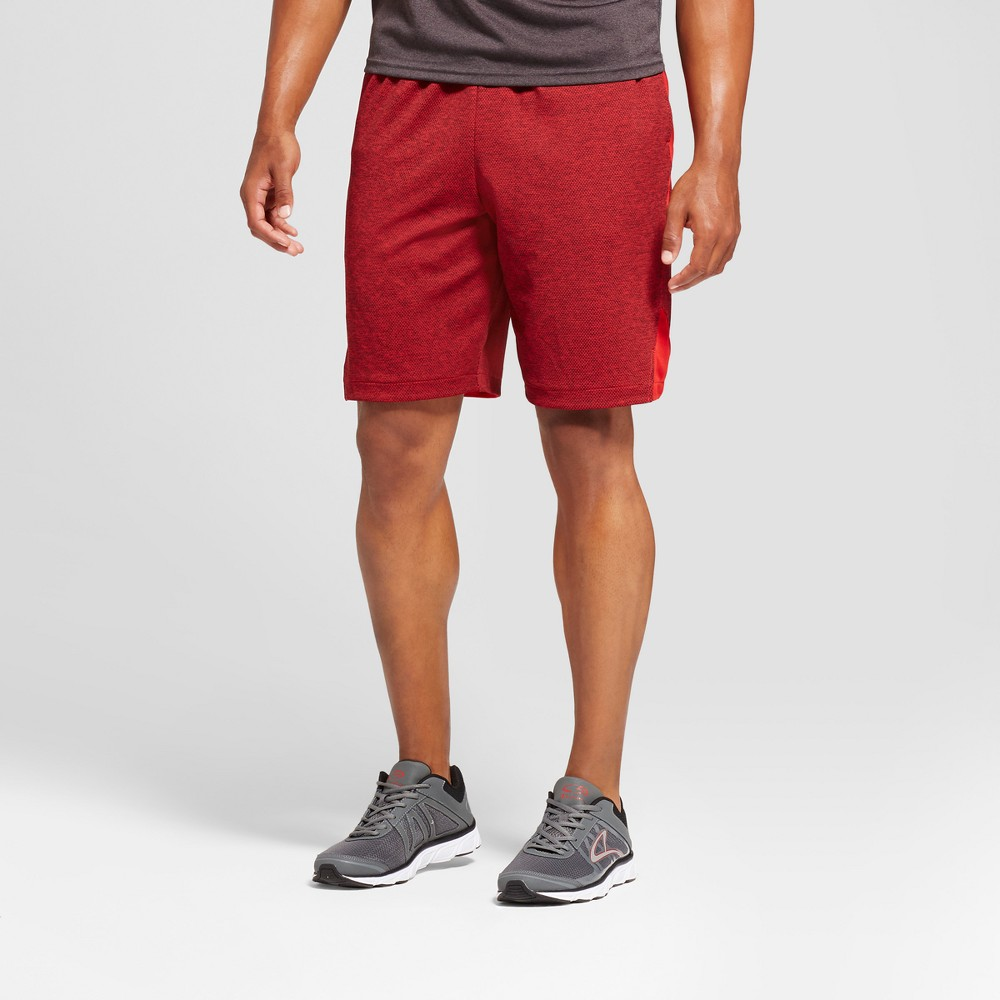 Mens Basketball Shorts with Mesh - C9 Champion Ripe Red L