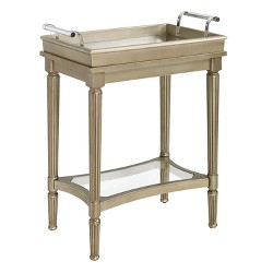 Masterpiece Mia Serving Tray Table - Oak Grove Collection