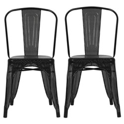 Nova Metal Mesh Dining Chair (Set Of 2) - Dorel Home Products