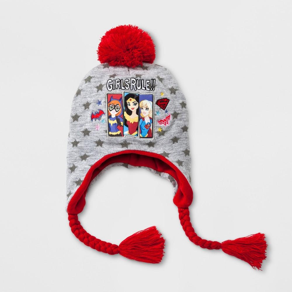 Girls Warner Bros. Justice League Girls Rule Peruvian Hat - Gray