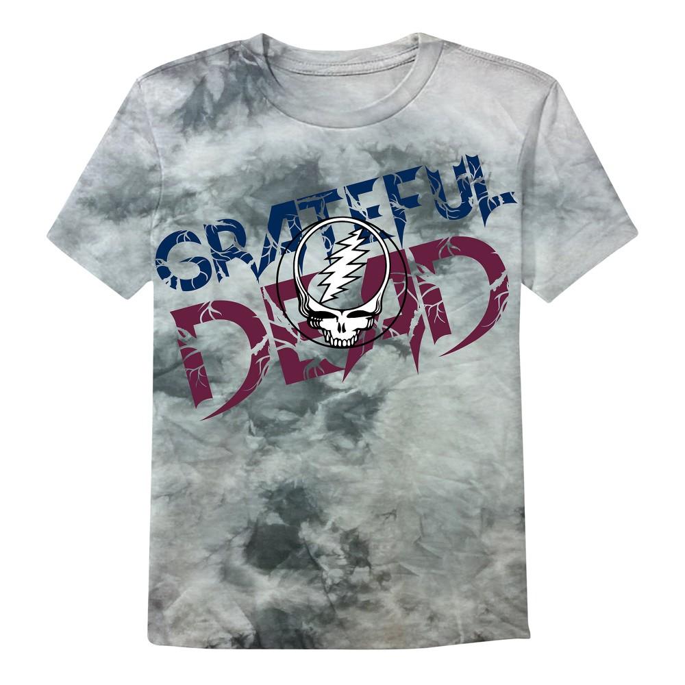 Mens Grateful Dead T-Shirt - Black S, Gray