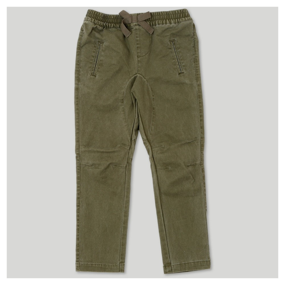 Jogger Pants Afton Street Army Green 18 M, Toddler Boys