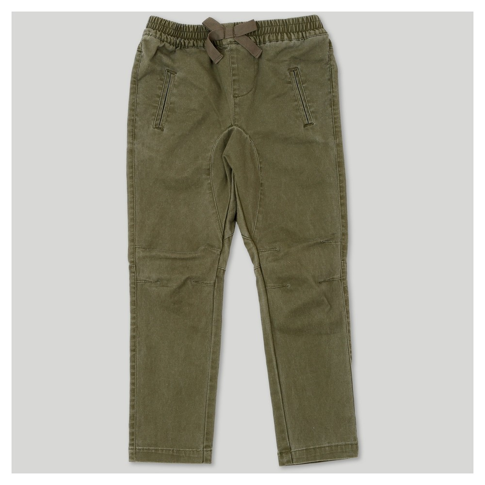 Jogger Pants Afton Street Army Green 12 Months, Toddler Boys, Size: 12 M