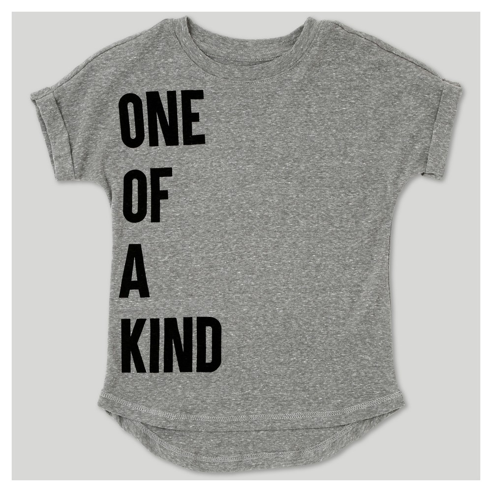 T-Shirt Heather Gray 12 M, Toddler Boys