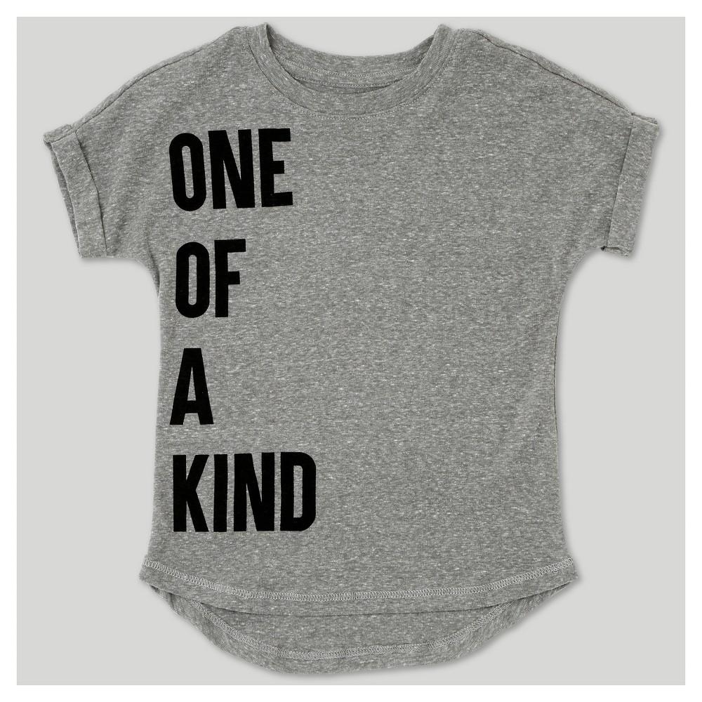 T-Shirt Heather Gray 18 M, Toddler Boys