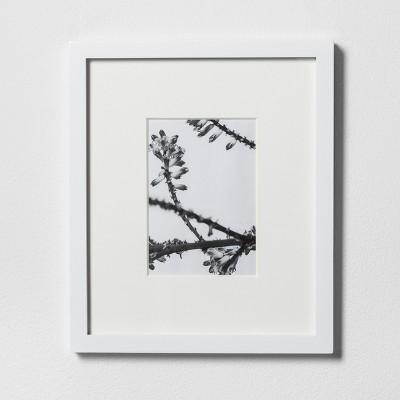 Single Image Frame 5X7 White