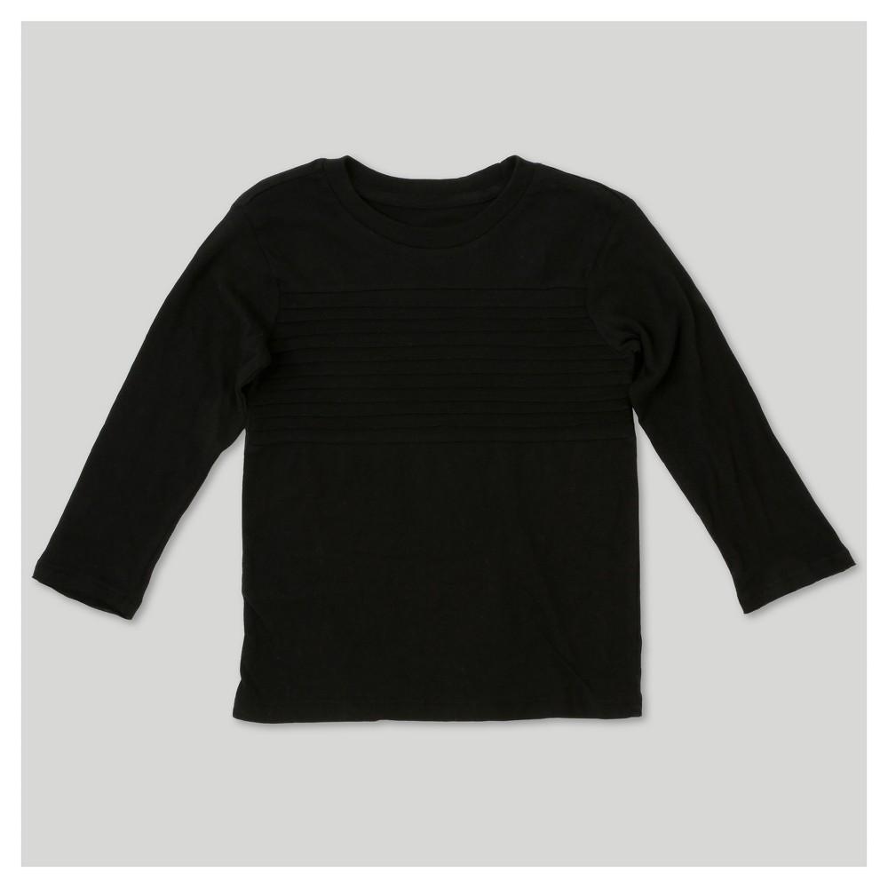 Afton Street Boys T-Shirt - Black 12M, Size: 12 M