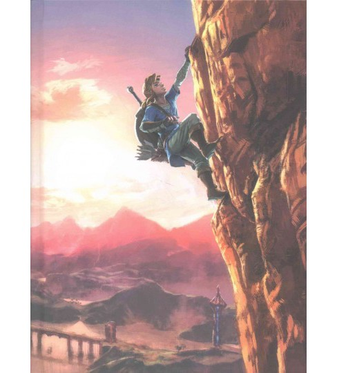Legend of Zelda Breath of the Wild : The Complete Official Guide (Hardcover) - image 1 of 1