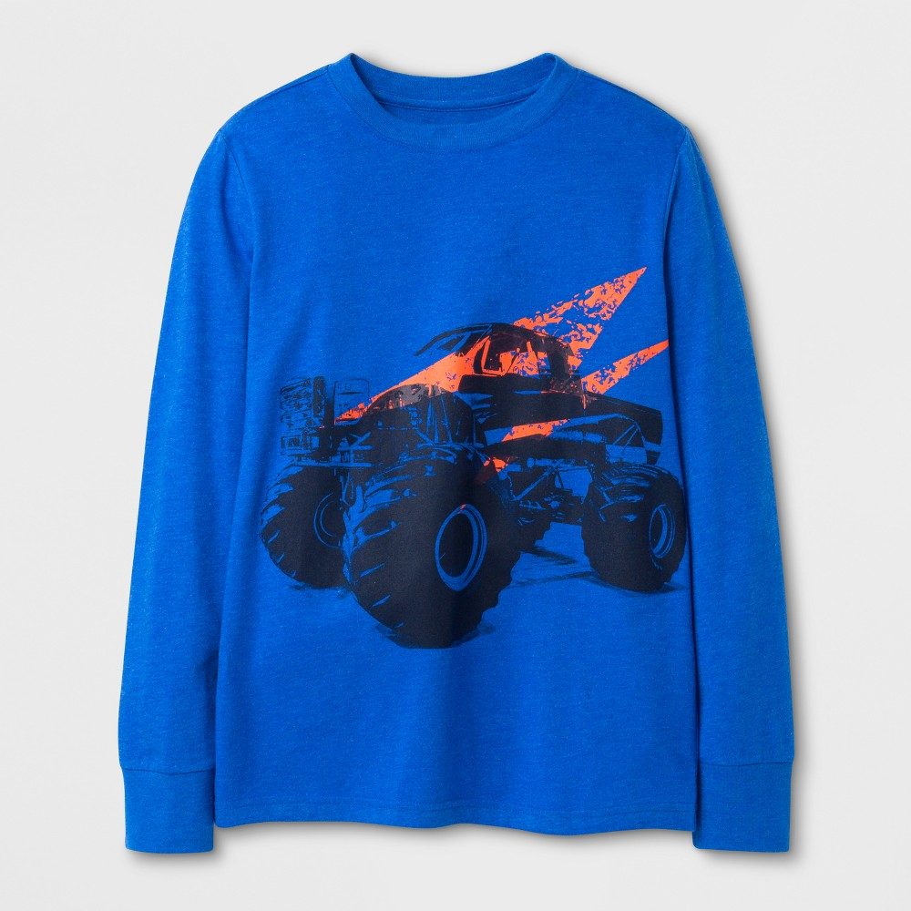 Boys Truck Graphic T-Shirt - Cat & Jack Blue L