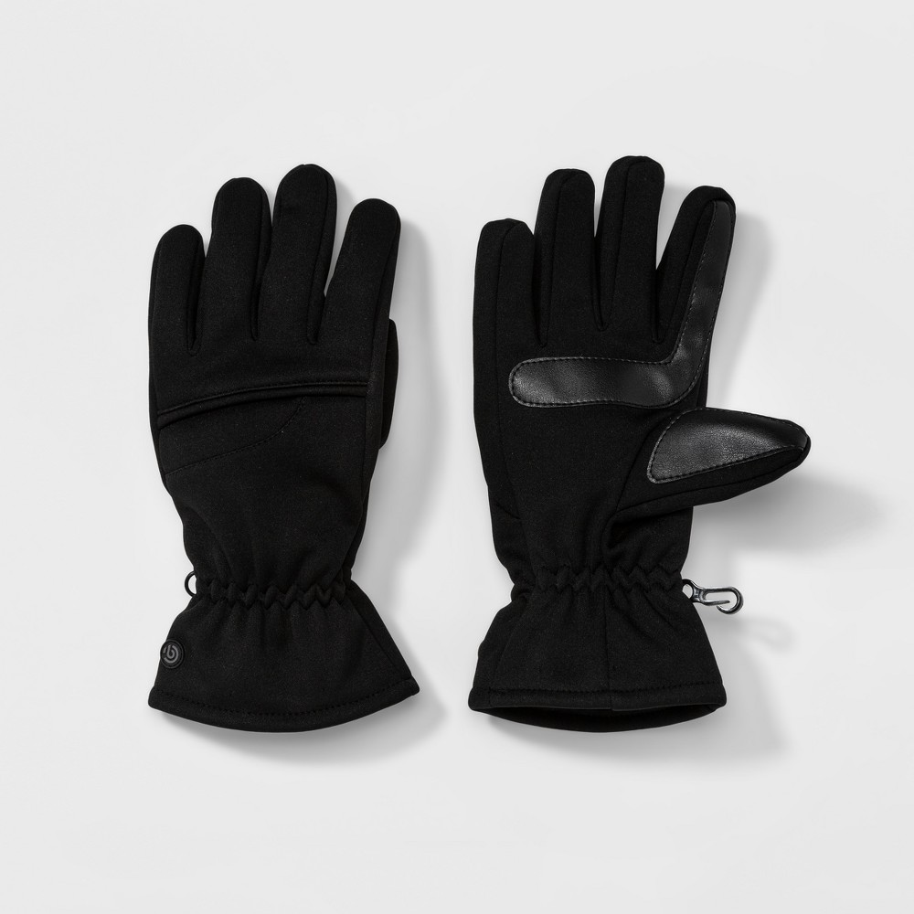 Womens Softshell Glove With Pieced Top Hand - C9 Champion Black L/XL