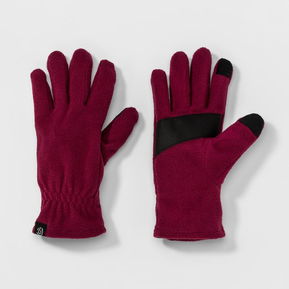 Womens Micro Fleece Glove - C9 Champion Berry (Pink) S/M