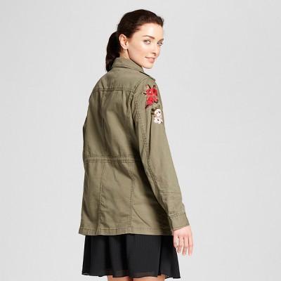 Khaki green jacket from target