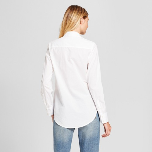 Women's Any Day Button Down Shirt - A New Day™ White : Target