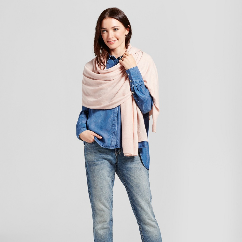 Womens Wrap - A New Day Light Pink
