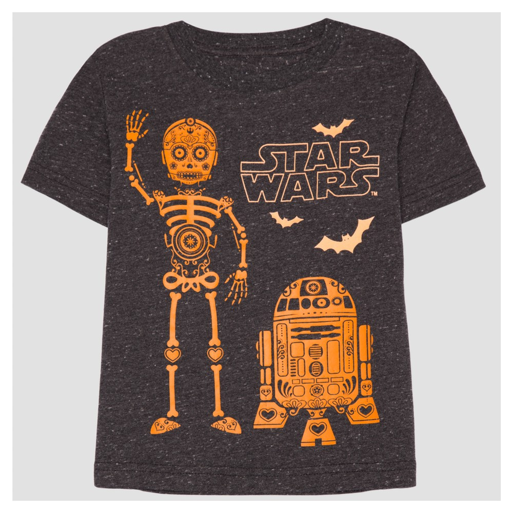T-Shirt Star Wars Black 5T, Toddler Boy's