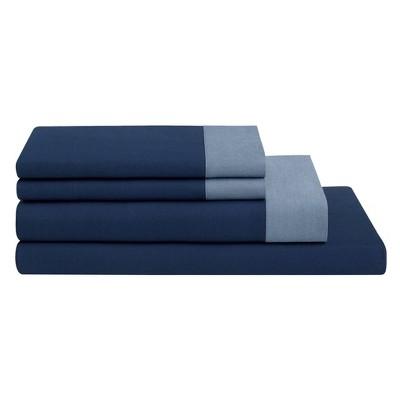 The Casper Sheet Set - Full Navy/Azure