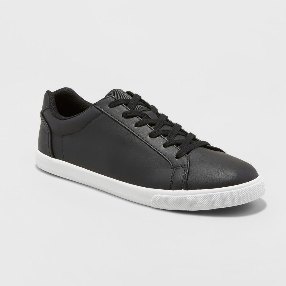 Mens Jared Lo Pro Tennis Shoe - Goodfellow & Co Black 8