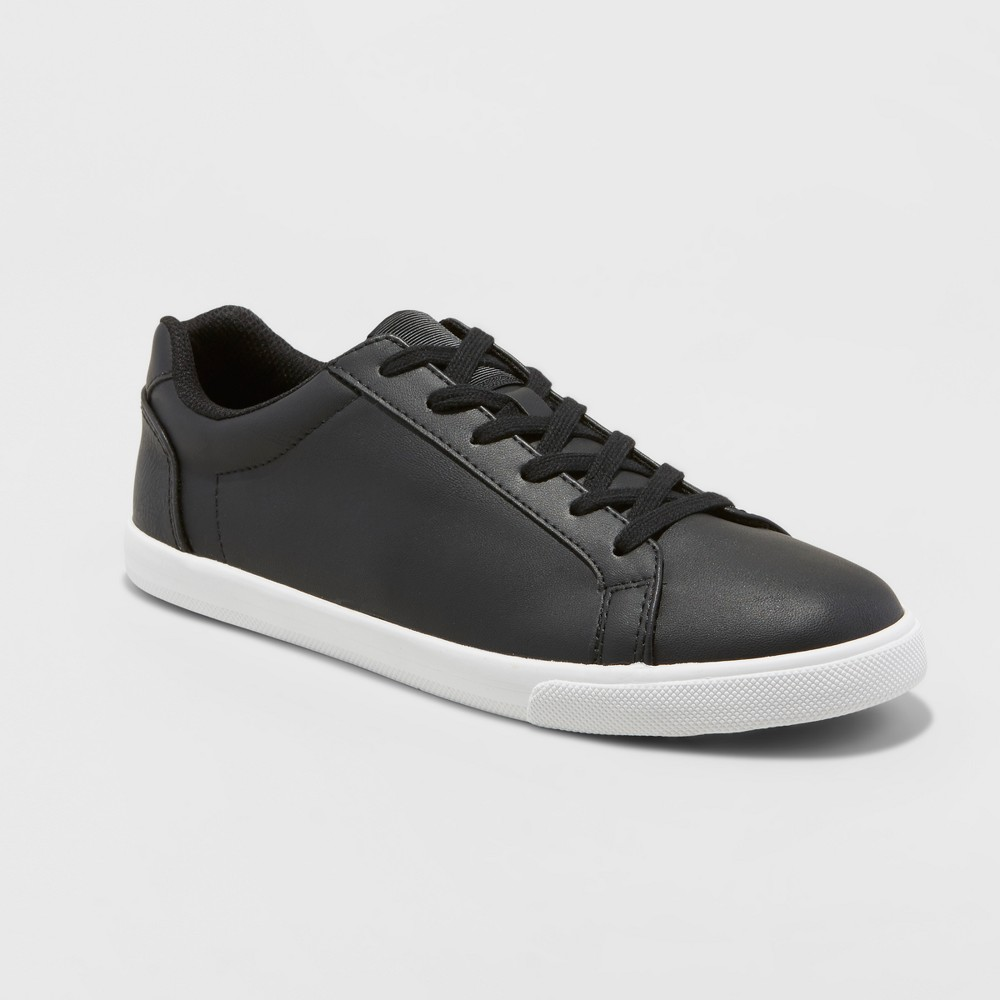 Mens Jared Lo Pro Tennis Shoe - Goodfellow & Co Black 8.5