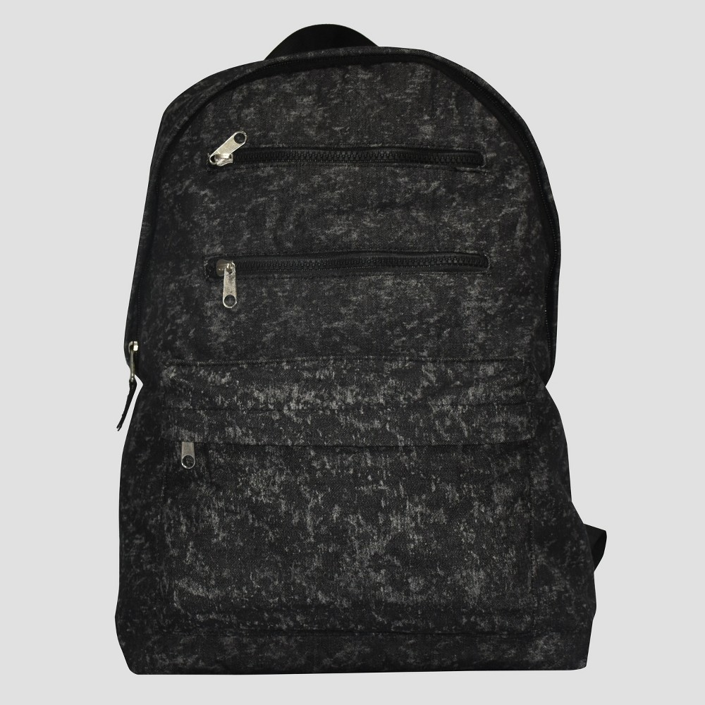 Boys Washed Print Backpack - Art Class Gray